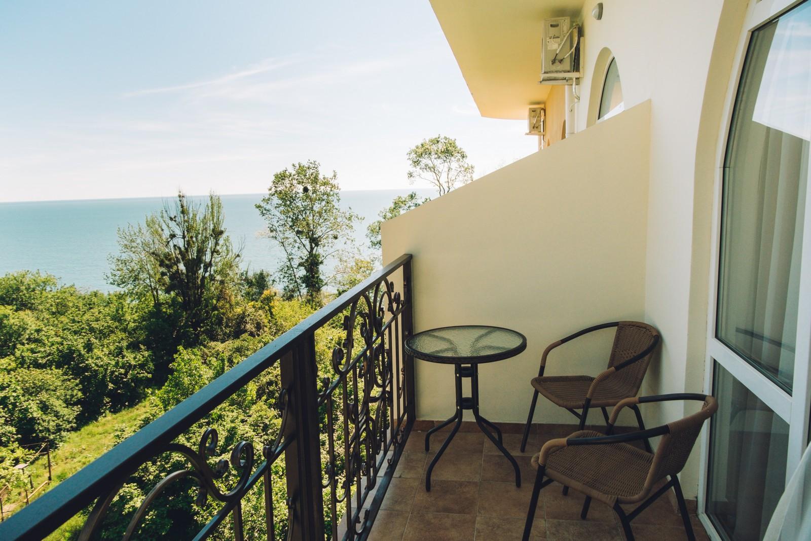 Двухместный номер с балконом